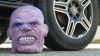CAR VS THANOS INFINITY HEAD