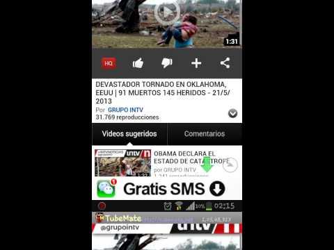 Como Descargar Videos De Youtube Como Mp3 Y Mp4 Desde Tu Android Con Tubemate. Leer Descripción 2017