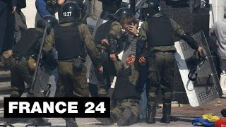 Ukraine: images of the violent clashes in Kiev, where one poli…