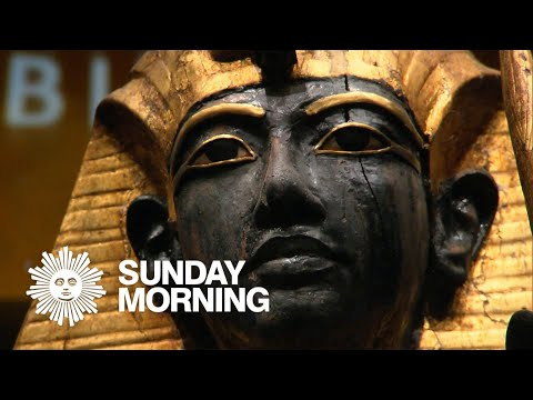 King Tut's treasures, in America for the last time
