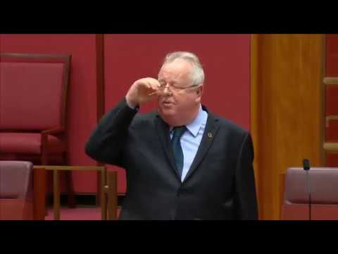 Qld LNP Sen Barry O'Sullivan rants about the Barnaby Joyce affair, threatens to name names