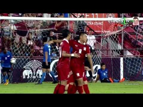 คลิปไฮไลท์ AFC U19 ทีมชาติไทย 3-0 สิงคโปร์ Thailand 3-0 Singapore