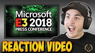 Microsoft @ E3 2018 Live Reaction! CYBERPUNK 2077!!!!