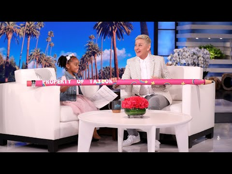 Ellen Gives Perfect Attendance Student a Pencil Her Classmates Can't Take