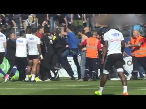 Ligue 1 – Bastia-Lyon : les joueurs lyonnais pris à partie lors de l'échauffement