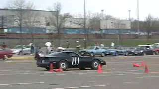Vette AutoCross with 3 360 spins+burnouts
