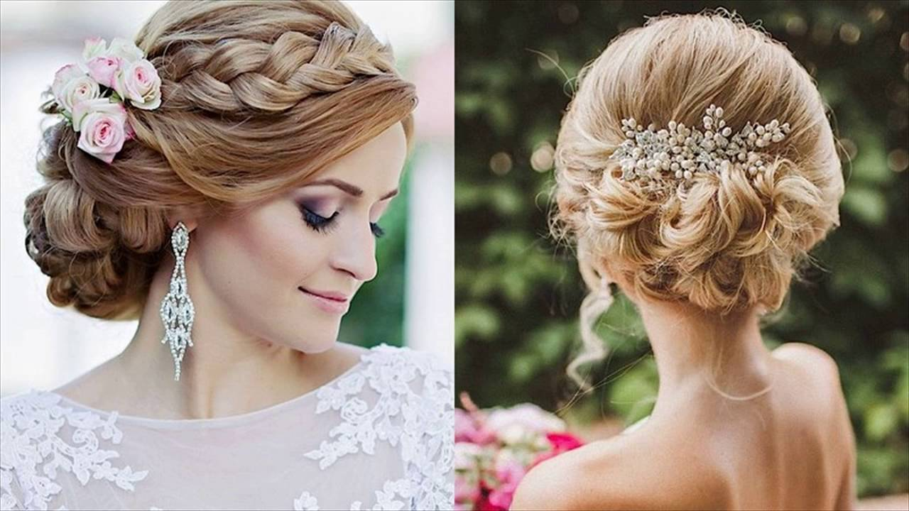 Most Beautiful Updo  Wedding  Hairstyles  YouTube