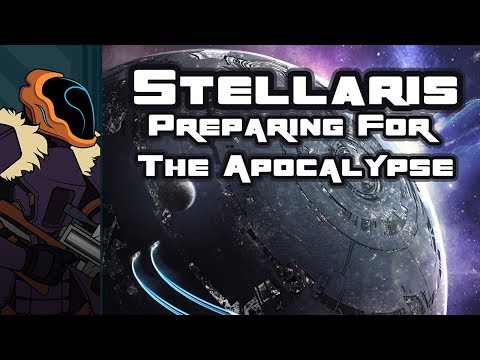 Let's Play Stellaris: Synthetic Dawn - PC Gameplay Part 1 - Preparing For The Apocalypse!