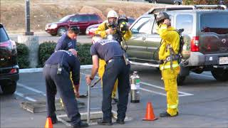 Homeless Start Small Fire In Drainage Culvert 12/7/2017