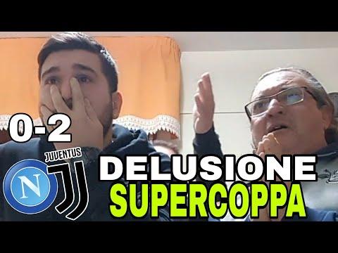 NAPOLI-JUVE 0-2 SUPERCOPPA 😭😭😭😭