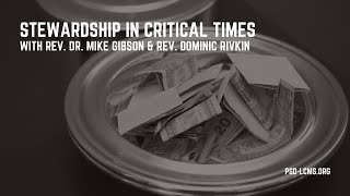Stewardship in Critical Times