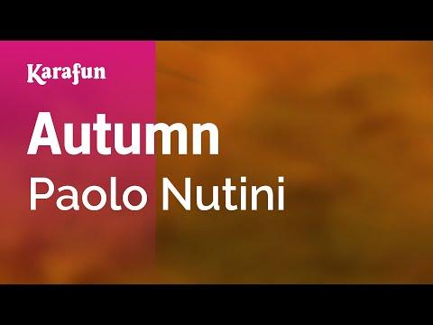Karaoke Autumn - Paolo Nutini *