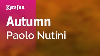 Karaoke Autumn - Paolo Nutini * Mp3