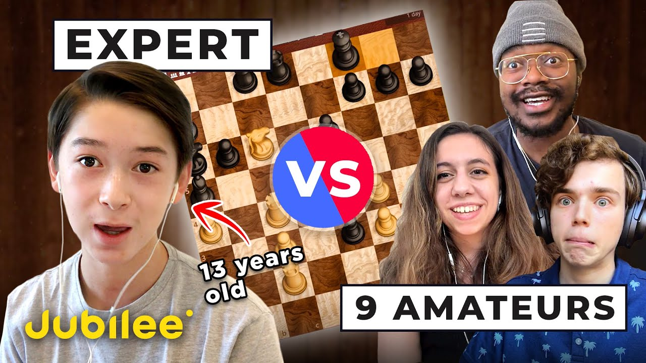9 Amateurs vs 13-Year-Old | Many vs Mighty
