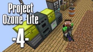 Minecraft - Project Ozone Lite #04 - Strøm og creative flight (HD)