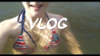 Vlog:Речка!!!)))Веселый влог/я дома