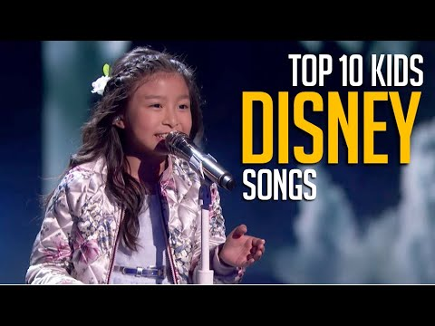 Top 10 Kids Singing DISNEY Songs on Talent Shows