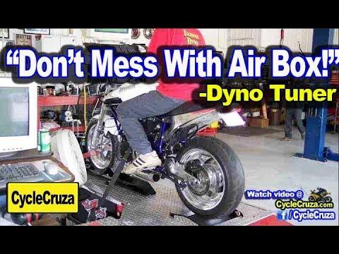 "Expert Dyno Tuner Says: ""DON'T Modify Air Box on Motorcycle!!"" | MotoVlog"