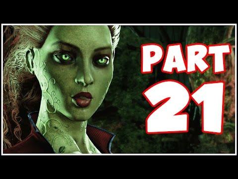 Batman Arkham Asylum - Part 21 - Poison Ivy! (Return to Arkham)