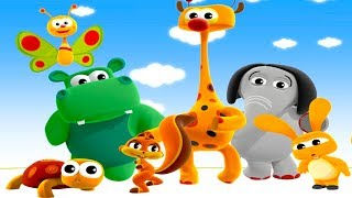 Flip and Flash BABY TV First Words Game  - Babytv Cartoon channel English 4k Video