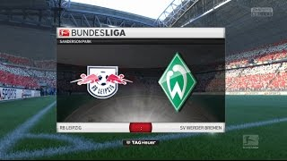 RB Leipzig - SV Werder Bremen [8. Spieltag   Bundesliga   Saison 16/17]