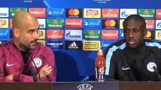 Pep Guardiola & Yaya Toure Full Pre-Match Press Conference - Shakhtar Donetsk v Manchester City