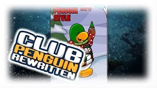 Club Penguin Rewritten: December Clothing Catalog