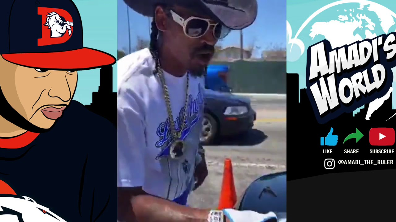 NIPSEY HUSSLE HOMIE COWBOY WANTS A FADE WITH SPIDER LOC
