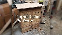 The story of the Dog Food Cabinet   Build Video