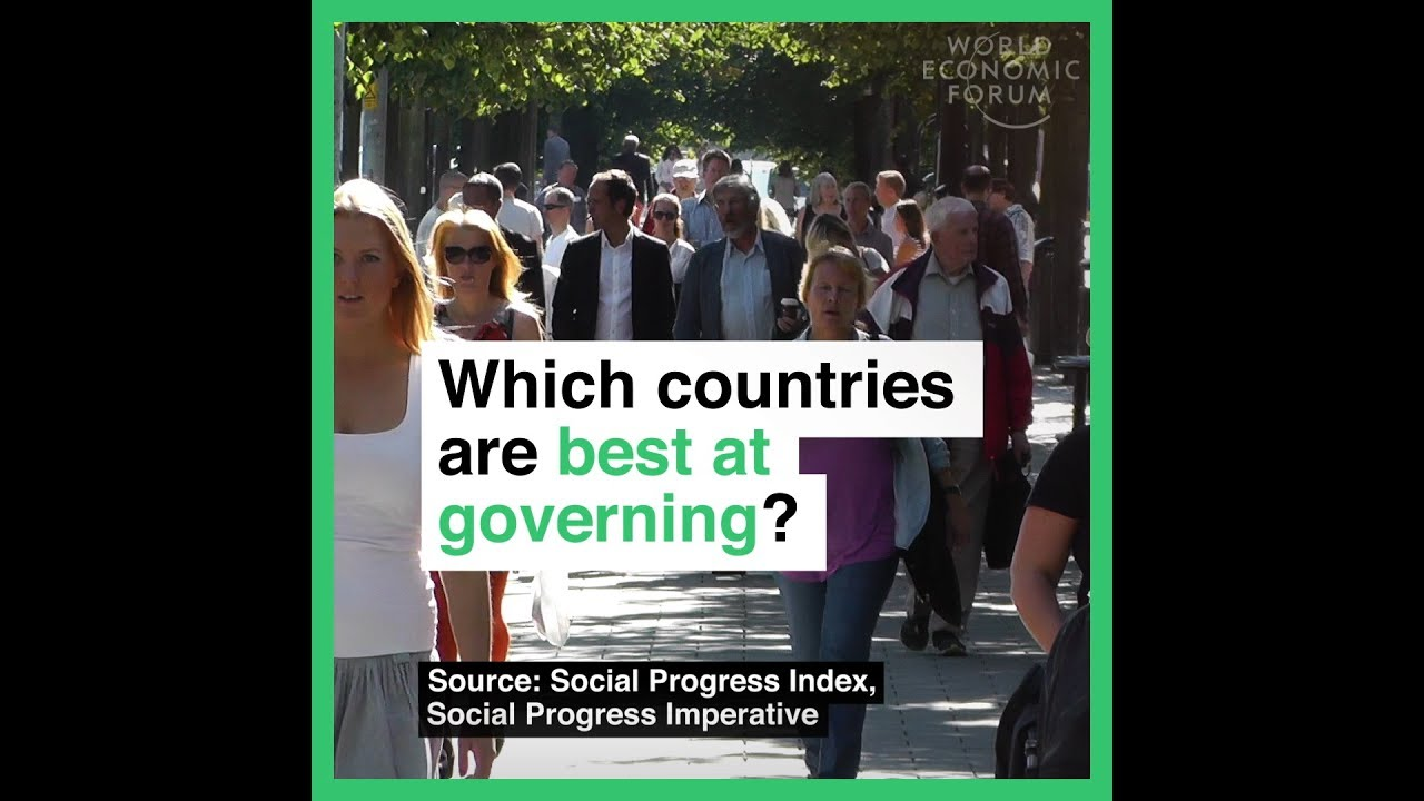 Wich countries are best at governing?