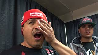 BACKSTAGE Mikey Garcia Seconds After His Lipinets Fight EsNews Boxing