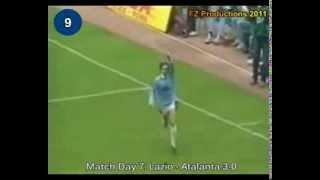 Italian Serie A Top Scorers: 1992-1993 Giuseppe Signori (Lazio) 26 goals