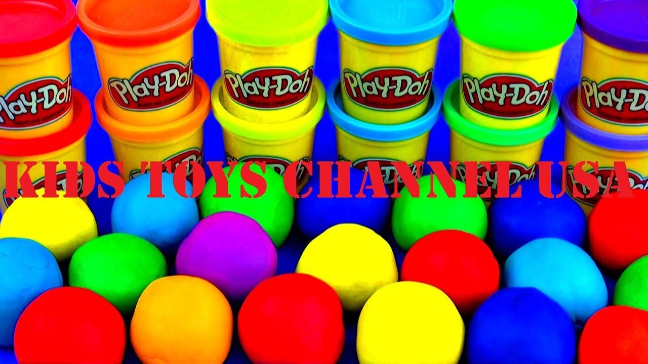 Play Doh Plastilina PlayDoh ПРастиРин ПРей До Funny Games Kids