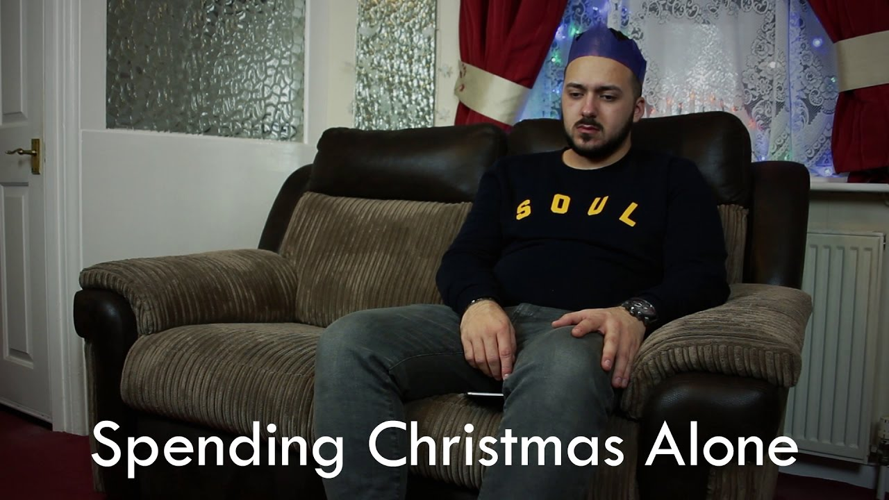 spending christmas alone youtube