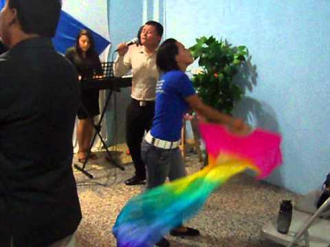 6  Misión Honduras 17  19 Julio 2015  Profeta Lirio Rivas Iniciando el Culto