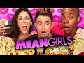 MEAN GIRLS Themed Food w/ Jonathan Bennett! (Cheat Day)
