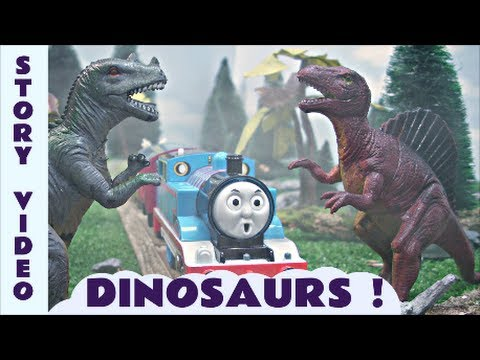 Thomas The Train Dinosaur Kids Toy Episode Train Set Thomas The Tank Engine Dinosaurs