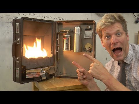 Download Youtube: The Briefcase Fireplace