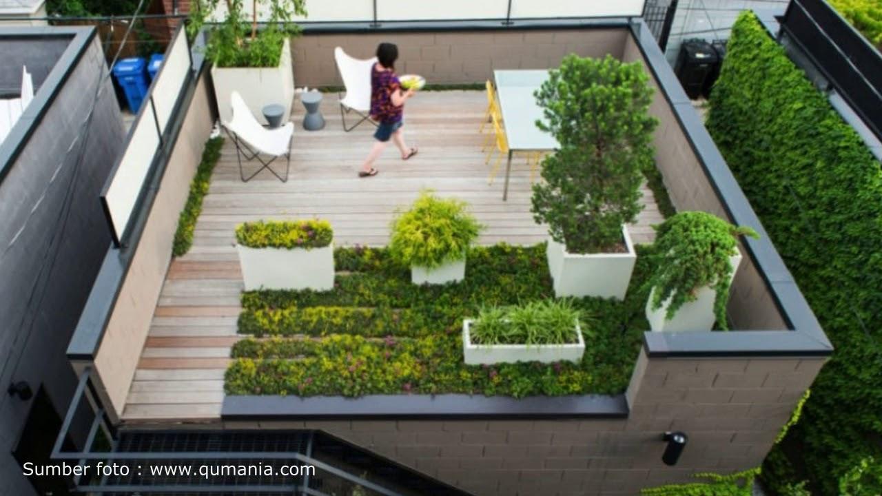 Desain Rumah Rooftop Minimalis Desain Rumah Modern