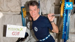 Real Astronauts Workouts on the Space Station | Muscle Madness