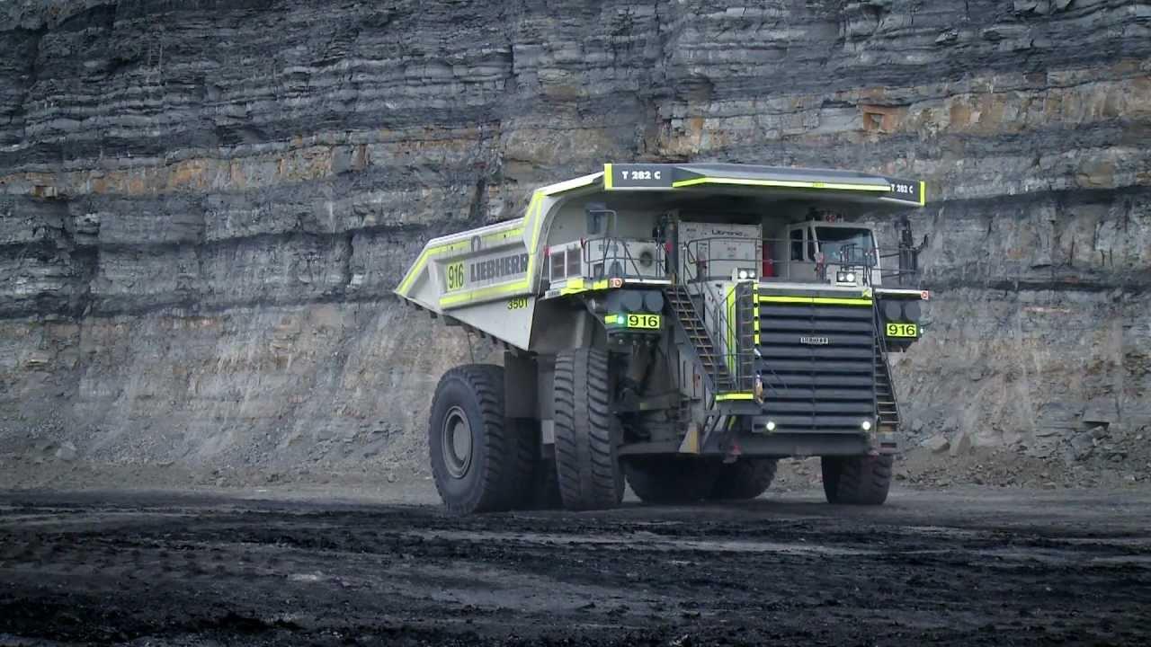 coal mining haul truck iMINCO - Leibherr 282