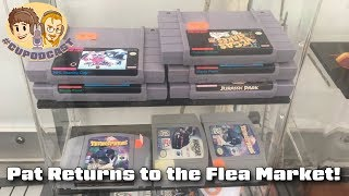 Pat Returns to the Flea Market - How Was It?