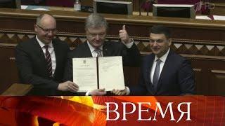 Украина готовит очередную провокацию в районе Керченского пролива, заявил глава МИД РФ С.Лавров.