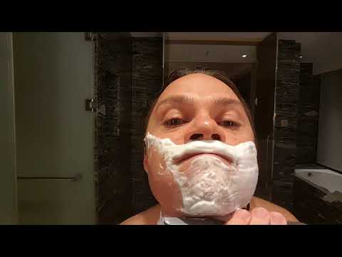 Kamisori Shavette Shave with some Maca Root!