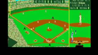 Earl Weaver Baseball for Amiga by Electronic Arts