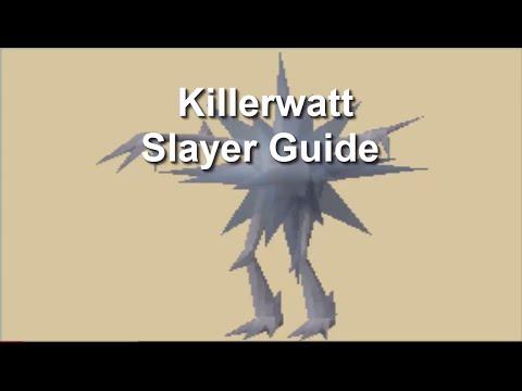OSRS Killerwatt Slayer Guide!  - Take No Damage -