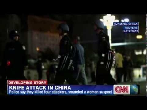 [Update] Mass Stabbing at Chinese Rail Station | China Knife Attack at Kunming Train Station