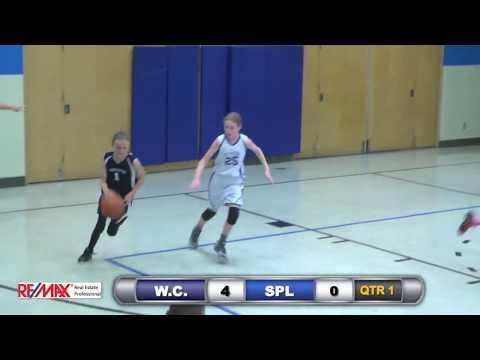 St. Peter's Lutheran Sports Network -   White Creek Wildcats vs SPL Lions 6/8 grade girls