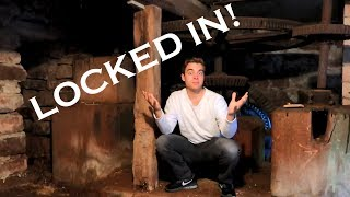 MY BROTHER LOCKED ME INSIDE AN OLD MILL! -COULDN'T GET OUT-