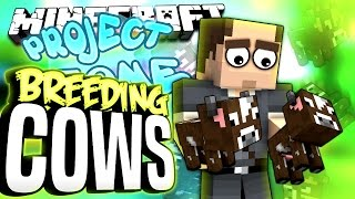 Minecraft - BREEDING COWS - Project Ozone #152